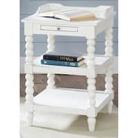 Harbor View White Chair Side Table