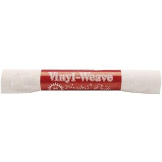 VinylWeave Cross Stitch Fabric 14 Count 12inX18inWhite