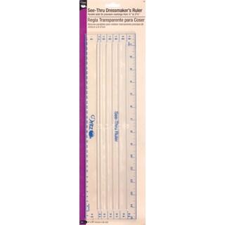 SeeThrough Dressmaker's Ruler4inX15in