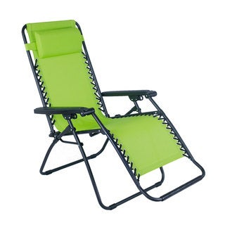 Adeco Outdoor Folding and Reclining Zero Gravity Chair