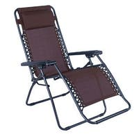 Outdoor Folding and Reclining Zero Gravity Chair