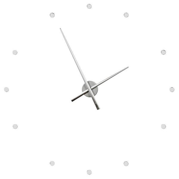 Hans Andersen Home Giant Silver Clock