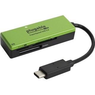 Plugable USB Type-C Flash Memory Card Reader