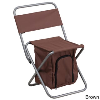 Kids Folding Camping Chair (Option: Brown)