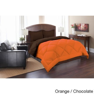 Comfort All-Season Down Alternative 3-Piece Reversible Comforter Set (3 options available)
