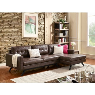 Clyde Antique Chestnut Brown Sectional