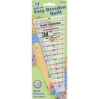 Easy Dresden Quilting Ruler1in To 71/2in
