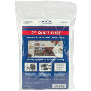 Quilt Fuse Fusible NonWoven Layout Grid48inX36in