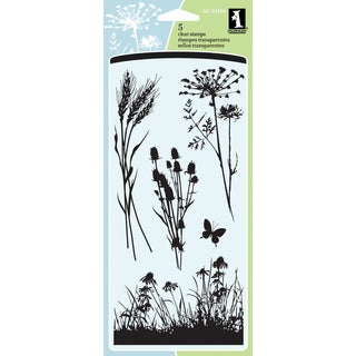 Inkadinkado Clear Stamps 4inX8in SheetMeadow