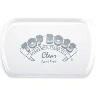 Top Boss Embossing PadClear (Option: Clear)