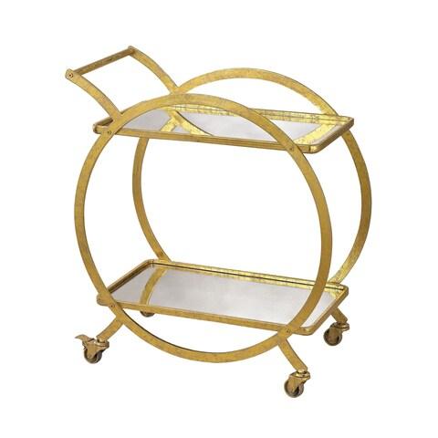 Sterling Ring Bar Cart