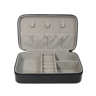 Royce Leather Luxury 4-slot Eyeglass Display Storage Case