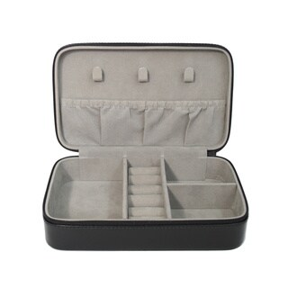 Royce Leather Luxury 4-slot Jewelry Display Storage Case