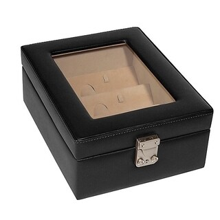 Royce Leather Luxury Eyeglasses Display Storage Case