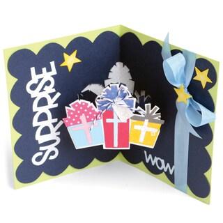 Sizzix Framelits Dies By Stephanie Barnard 15/PkgScallop Gifts DropIns Card