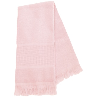 Maxton Velour Guest Towel 14 Count 12inX19.5inLight Pink