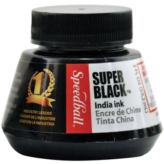 Speedball Super Black India Ink2oz