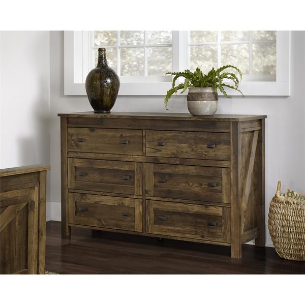 Ameriwood Home Farmington 6 Drawer Dresser