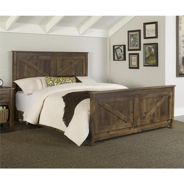 Shop Altra Farmington Queen Bed Free Shipping Today