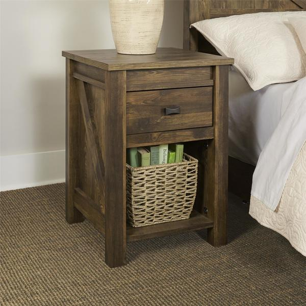 Ameriwood Home Farmington Night Stand Free Shipping