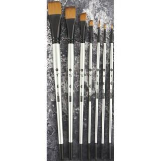 Finnabair Brush Set 7/PkgSizes: 0, 2, 4, 1/4, 1/2, 3/4, 1