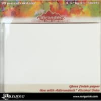 Adirondack Alcohol Ink Cardstock By Tim Holtz 20/Pkg4.25inX5.5in