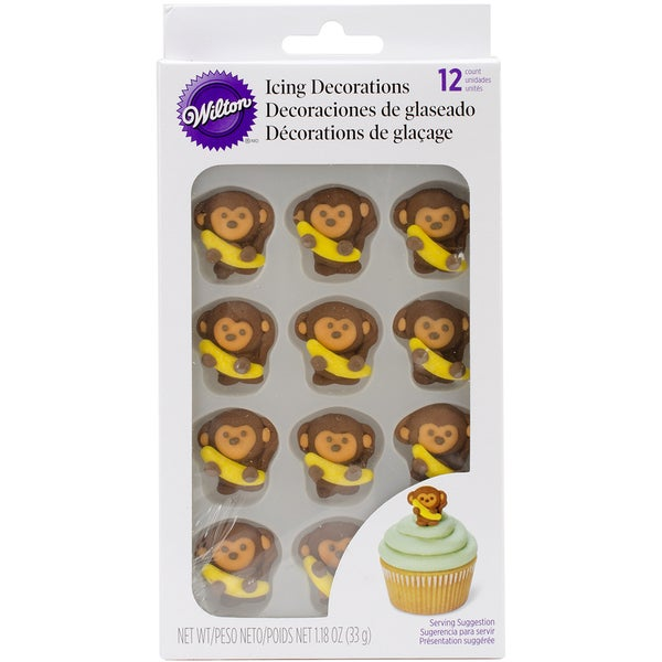 Monkey Cake Decorating Kits