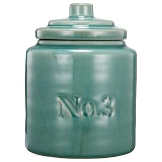 kathy ireland 3-piece Round Ceramic Lidded Jar
