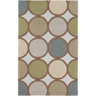 Hand-Tufted Antony Wool Rug (9' x 13')