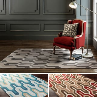 Hand-Tufted Antonio Wool Rug (9' x 13')