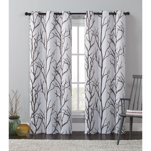 VCNY Keyes Printed Blackout Curtain Panel - 17650994 - Overstock.com ...
