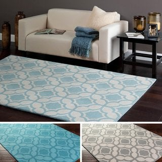 Hand-Tufted Athens Wool Rug (5' x 8')