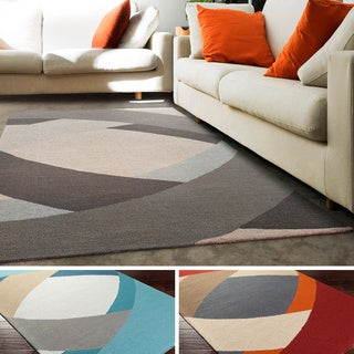 Hand-Tufted Arvada Wool Rug (5' x 8')