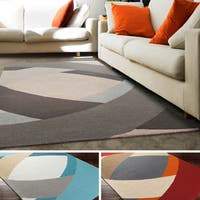 Hand-Tufted Arvada Wool Rug - 5' x 8'