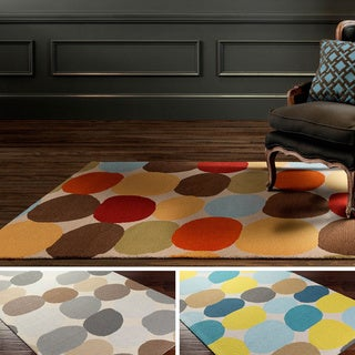 Hand-Tufted Arlo Wool Rug (5' x 8')