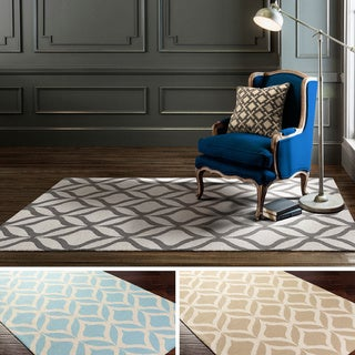 Hand-Tufted Antibes Wool Rug (5' x 8')