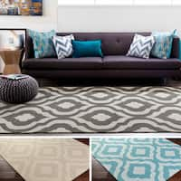 Hand-Tufted Annemasse Wool Rug - 5' x 8'