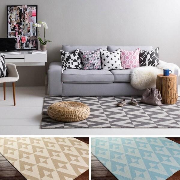 Hand-Tufted Alena Wool Rug (4' x 6')