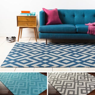 Hand-Tufted Adil Wool Rug (4' x 6')