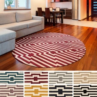 Hand-Tufted Holbeach Wool Rug (3'6 Round)