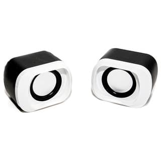 iBasics Amplified Stereo USB Dual Speakers with Volume Control