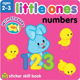 Little Ones Sticker Skill BookNumbers Ages 23