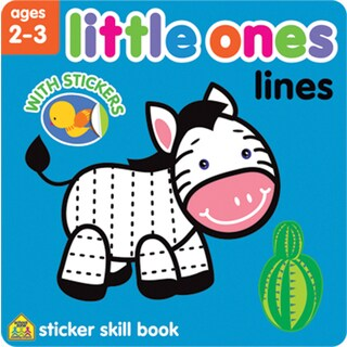 Little Ones Sticker Skill BookLines Ages 23