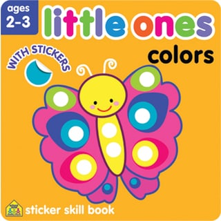 Little Ones Sticker Skill BookColors Ages 23