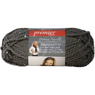 Deborah Norville Collection Serenity Chunky Sequin YarnSparkling Silver