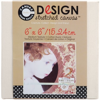 Stretched CanvasNatural 6inX6in