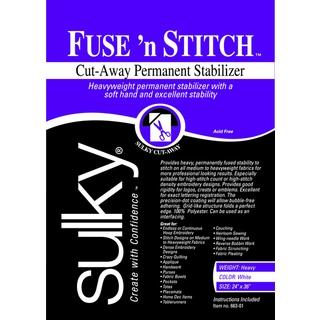 Fuse 'n Stitch CutAway Permanent Stabilizer24inX36in