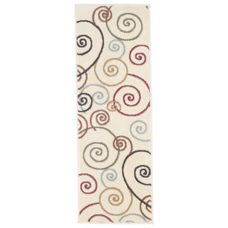 "Windsor Home Swirls Area Rug - Mult-Color - 1'8""x5'"