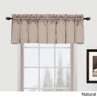 Luxury Collection Metro Straight Valance - 54 x 16 (Option: Natural)