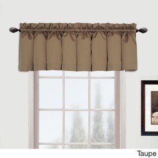 Luxury Collection Metro Straight Valance - 54 x 16 (Option: Taupe)